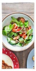 Salad Hand Towel by Tom Gowanlock
