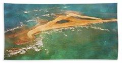 Shark Island Nc Hand Towel by Betsy Knapp