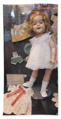 Shirley Temple Doll Hand Towel by Donna Wilson