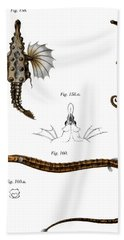 Short Dragonfish Hand Towel by German School