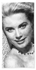 Simply Stunning Grace Kelly Hand Towel by Florian Rodarte