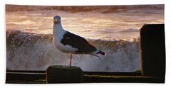 Sittin On The Dock Of The Bay Hand Towel by David Dehner