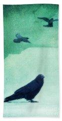 Spirit Bird Hand Towel by Priska Wettstein