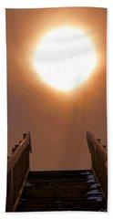 Stairway To Heaven Hand Towel by Dan Sproul