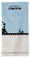 Stand By Me Hand Towel by Ayse Deniz