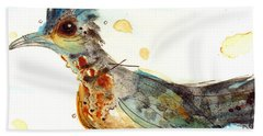 Stop And Smell What? Hand Towel by Dawn Derman