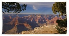 Sunset At Hopi Point Hand Towel by Alex Cassels