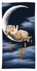 Sweet Dreams Hand Towel by Veronica Minozzi