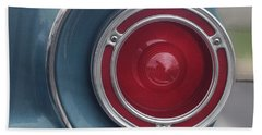 Tail Light Ford Falcon 1961 Hand Towel by Don Spenner