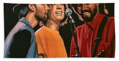 The Bee Gees Hand Towel by Paul Meijering