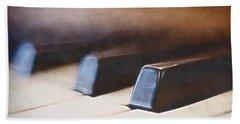 The Black Keys Hand Towel by Scott Norris