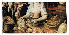The Cook Hand Towel by Pieter Cornelisz van Rijck