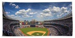 The Stadium Hand Towel by Rick Berk