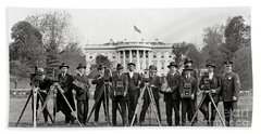 The White House Photographers Hand Towel by Jon Neidert