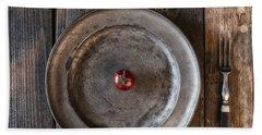 Tomato Hand Towel by Joana Kruse
