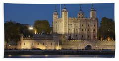 Tower Of London Hand Towel by Brian Jannsen