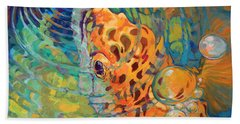 Trout Rise Hand Towel by Savlen Art