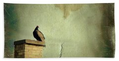 Turkey Vulture Hand Towel by Gothicrow Images