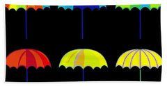 Umbrella Ella Ella Ella Hand Towel by Florian Rodarte
