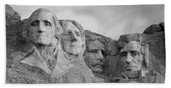 Usa, South Dakota, Mount Rushmore, Low Hand Towel by Panoramic Images
