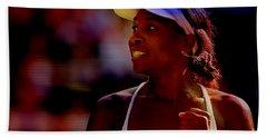 Venus Williams Hand Towel by Marvin Blaine