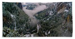 Western Yosemite Valley Hand Towel by Bill Gallagher
