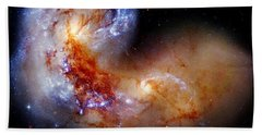 Worlds Collide Hand Towel by Benjamin Yeager