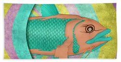 Wreckfish Hand Towel by Bruce Stanfield