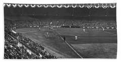 Yankee Stadium Game Hand Towel by Underwood Archives