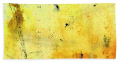 Yellow Abstract Art - Lemon Haze - By Sharon Cummings Hand Towel by Sharon Cummings