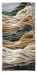 Tagliolini Pasta Hand Towel by Elena Elisseeva