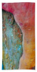 Hand Towel featuring the digital art Become by Richard Laeton