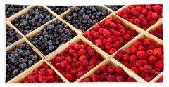 Berries Hand Towel by Lauri Novak