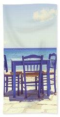 Blue Hand Towel by Joana Kruse