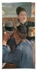 Corner Of A Cafe-concert Hand Towel by Edouard Manet