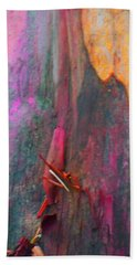 Hand Towel featuring the digital art Dance For The Earth by Richard Laeton