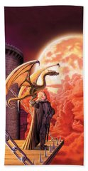 Dragon Lord Hand Towel by The Dragon Chronicles - Robin Ko