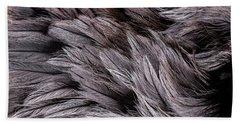 Emu Feathers Hand Towel by Hakon Soreide