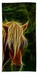 Fantasy Horse Hand Towel by Paul Ward