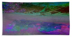 Hand Towel featuring the digital art Grow by Richard Laeton