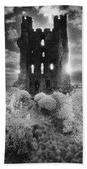 Helmsley Castle Hand Towel by Simon Marsden