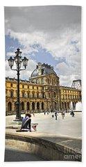 Louvre Museum Hand Towel by Elena Elisseeva