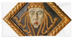 Medusa Hand Towel by Photo Researchers