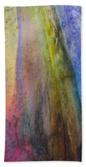 Hand Towel featuring the digital art Move On by Richard Laeton