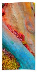Hand Towel featuring the digital art New Way by Richard Laeton