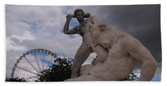 No   You Are Not Going On The Ferris Wheel Hand Towel by John Malone