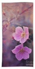 Prickly Rose Hand Towel by Priska Wettstein