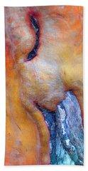Hand Towel featuring the digital art Sacred by Richard Laeton