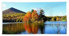 Sharp Top Mountain Hand Towel by Todd Hostetter