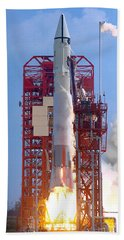 The Atlas-centaur 10, Carrying Hand Towel by Stocktrek Images
